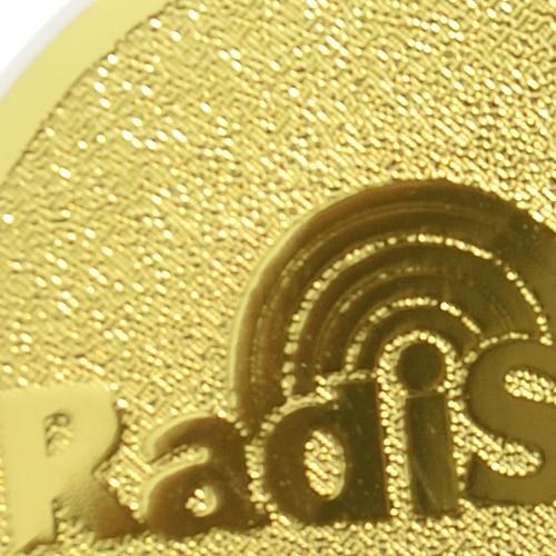 2019hot product mobile phone sticker realy work shiled 99.8%24K-Gold Radi Safe anti radiation sticker 50pcs/lot free shppin