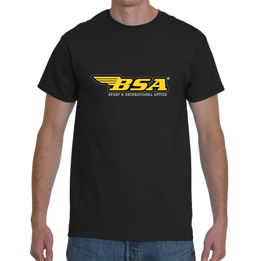 New <font><b>BSA</b></font> Sniper Rifle Scope Men's Black Short Sleeve T-<font><b>Shirt</b></font> Size S-3XL Summer New Arrive Short Sleeve top tee image