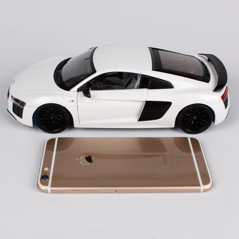 Maisto 1:18 Audi R8 V10 PLUS Sports Car Hardback Diecast Model Car Toy New  In Box Free Shipping NEW ARRIVAL 38135 In Diecasts U0026 Toy Vehicles From Toys  ...