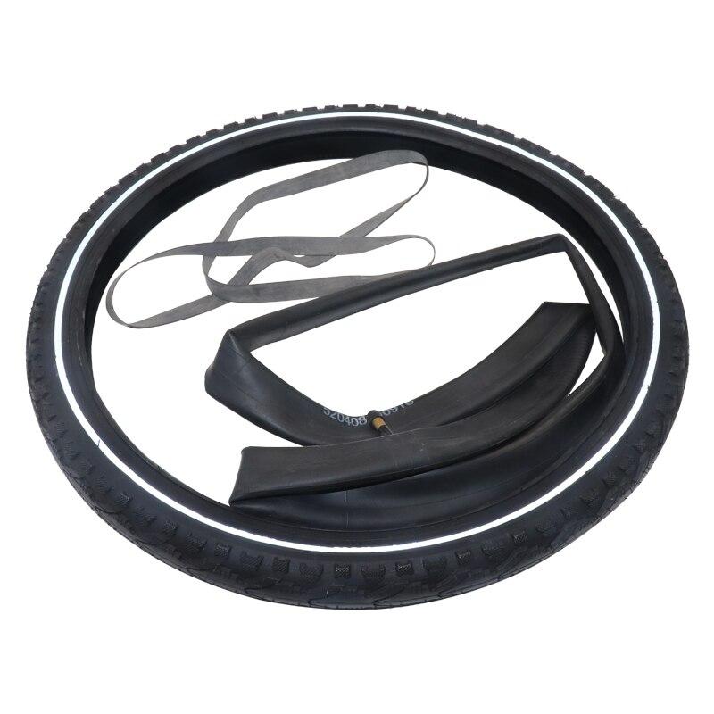 700C * 38C caoutchouc pour pneu de vélo 700 avec chambre à air ultralégère noir VTT vélos de route roue pneus de vélo