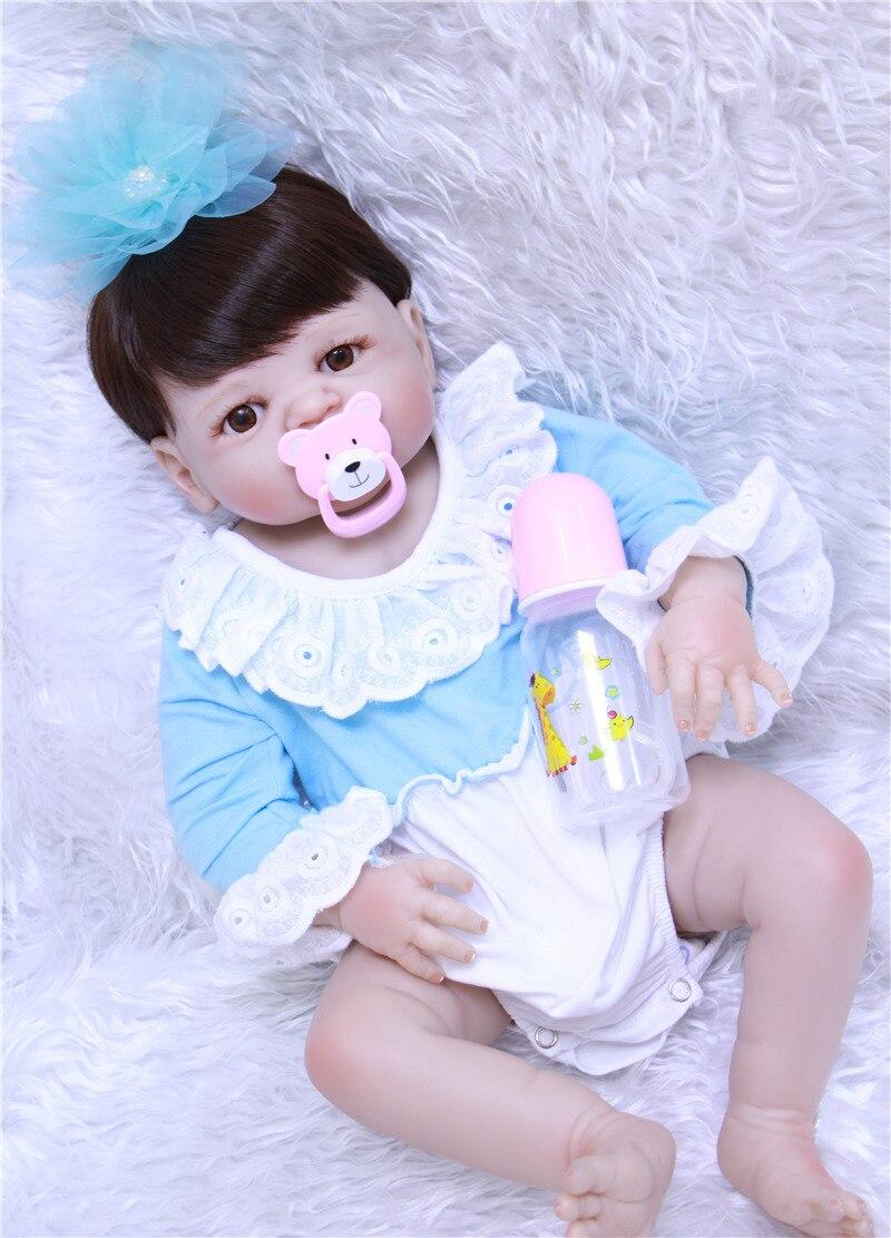 Belle bébé fille poupée reborn 22