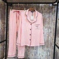 JRMISSLI Factory wholesale Women Pajamas Sets Modal Sleepwear Pijama Pyjama Sleep Lounge Long Sleeve