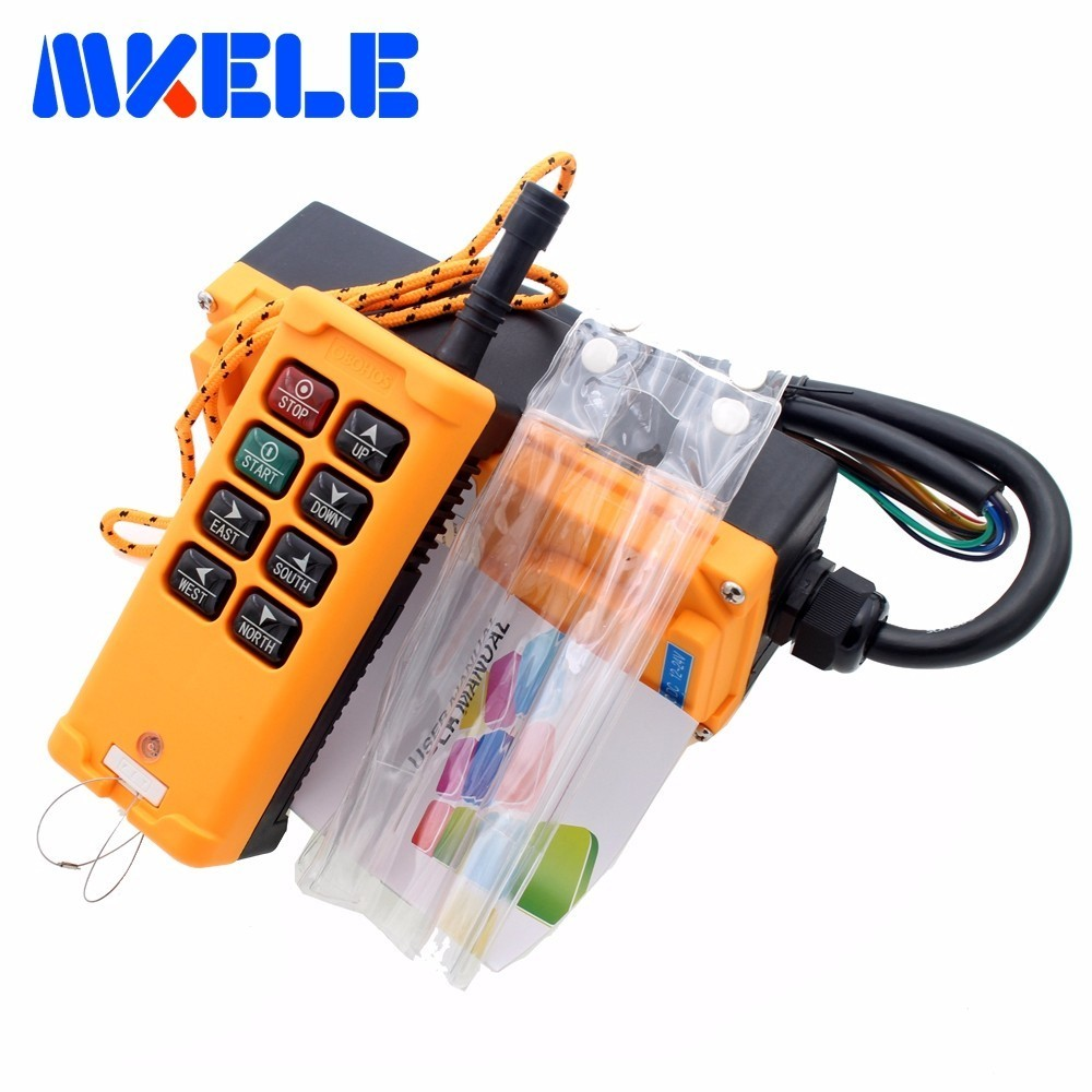Фотография New Arrivals crane industrial remote control HS-8wireless transmitter push button switch China