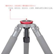JIEYANG 75 mm  Semisphere Converter Half Ball Flat to Bowl Adapter  for Fluid Head Tripod DSLR Rig Camera