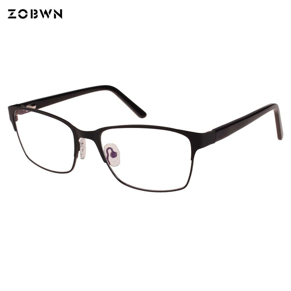 b620386f0 ... Business glasses man vintage gafas Fashion eyeglasses Generoso thin  computer frames Lunettes big size oculos de ...