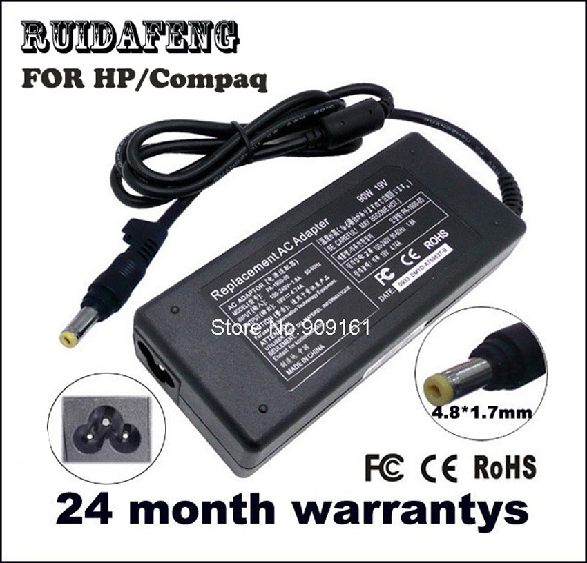 Laptop Adapter Oplader 19 V 4.74A 90 W 4.8mm * 1.7mm VOOR HP Compaq - Notebook accessoires