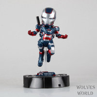 משלוח חינם איש ברזל מעופף יציבה vi איירון מן הקפטן אמריקה pvc איור אוסף פעולה דמויות צעצועי בובות חג המולד