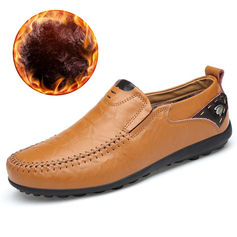 Neue Atmungsaktiv Marke Müßiggänger Männer Leder Casual Schuhe Sommer Hohe Qualität Erwachsene Slip On Mokassins Männer Turnschuhe Männlichen Schuhe 46