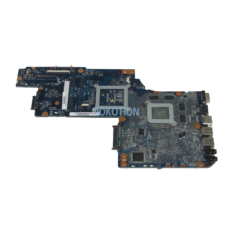 motherboard graphics NOKOTION Brand New H000052690 Laptop Motherboard For Toshiba satellite C850 L850 c855 HM76 Radeon HD 7610M Graphics Main board (3)