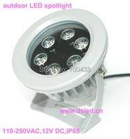 ¡Envío Gratis! Foco LED de 6W para exteriores  foco LED IP65  buena calidad  110 250VAC  DS 06 14 6W  garantía de 2 años green led spotlight power led spotlight power spotlights -