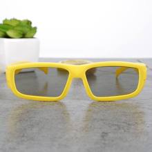 Fashion Kid 3d glass Children 3 D glasses garden of polarized 3 d glasses passive film polarimetric TV 3 d glasses