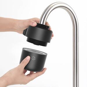 Image 2 - Youpin Yimu שחור אינטליגנטי ניטור ברז מים מטהר מסנן מטבח אמבטיה מסנני בית מטבח