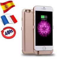 Navio da França Espanha Para o iphone 6 6 S Caso Poder 10000 mAh Pacote De Backup Externo Carregador de Bateria Caso Banco
