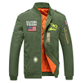 Air force embroidery badge pilot thickening jacket men and women workers fitted with cotton mens jackets coats 88wy