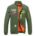 Bordado insignia de la fuerza aérea piloto engrosamiento chaqueta de los hombres y mujeres trabajadores equipados con sábanas de algodón para hombre chaquetas abrigos 88wy