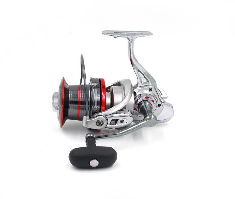 цена на 4.0:1 Long Shot Casting Reel 14+1 BBs Biggest Metal Spinning Fishing Wheel For Carp Fishing Sea  carretilha 9000 10000 12000