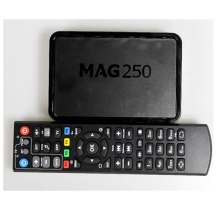Mag250 IPTV android tv box linux 2.6.23 système set top box processeur STi7105 RAM 256 Mb Mag 250 ipandroid tv pas iptv compte