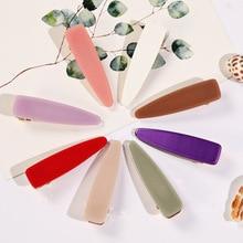 AOMU Japan acetate geometric simple fashion word hairpin polka water drop female ladies hair accessories