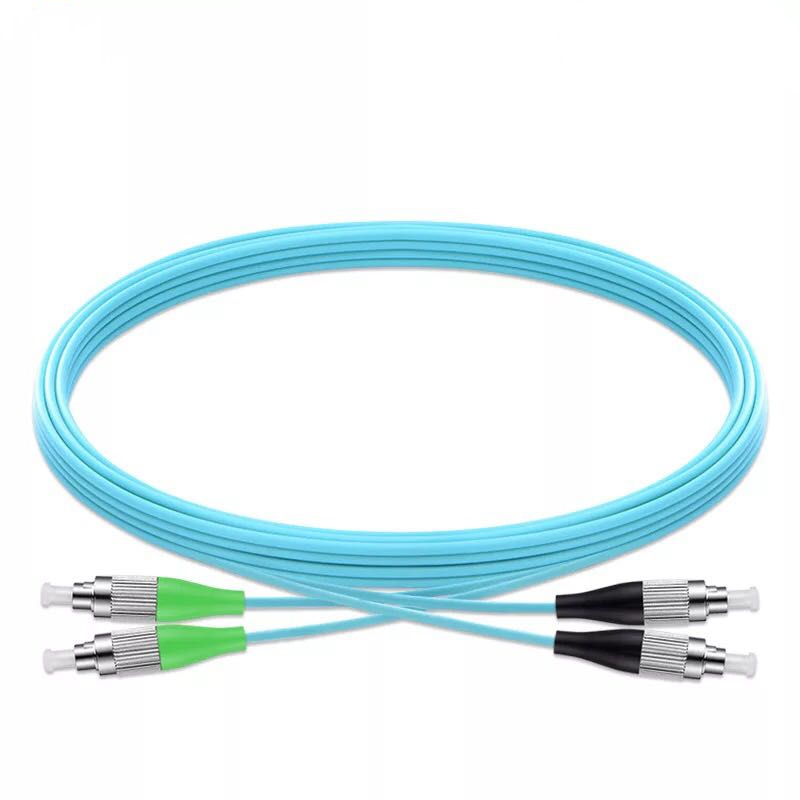 5pcs/lot  OM3 Multimode Fiber Patch Cord Duplex 50/125 3.0mm Fiber Optic Cables,FC/UPC-FC/APC Fiber Jumper