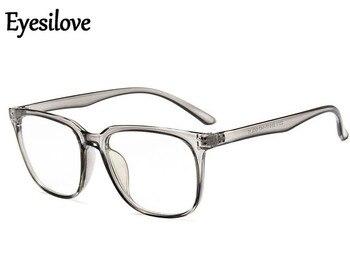 Eyesilove klassieke Afgewerkte bijziendheid bril mannen vrouwen grote frame Bijziend Bril shortsight eyewear plain bril-1.0 ~-6.0