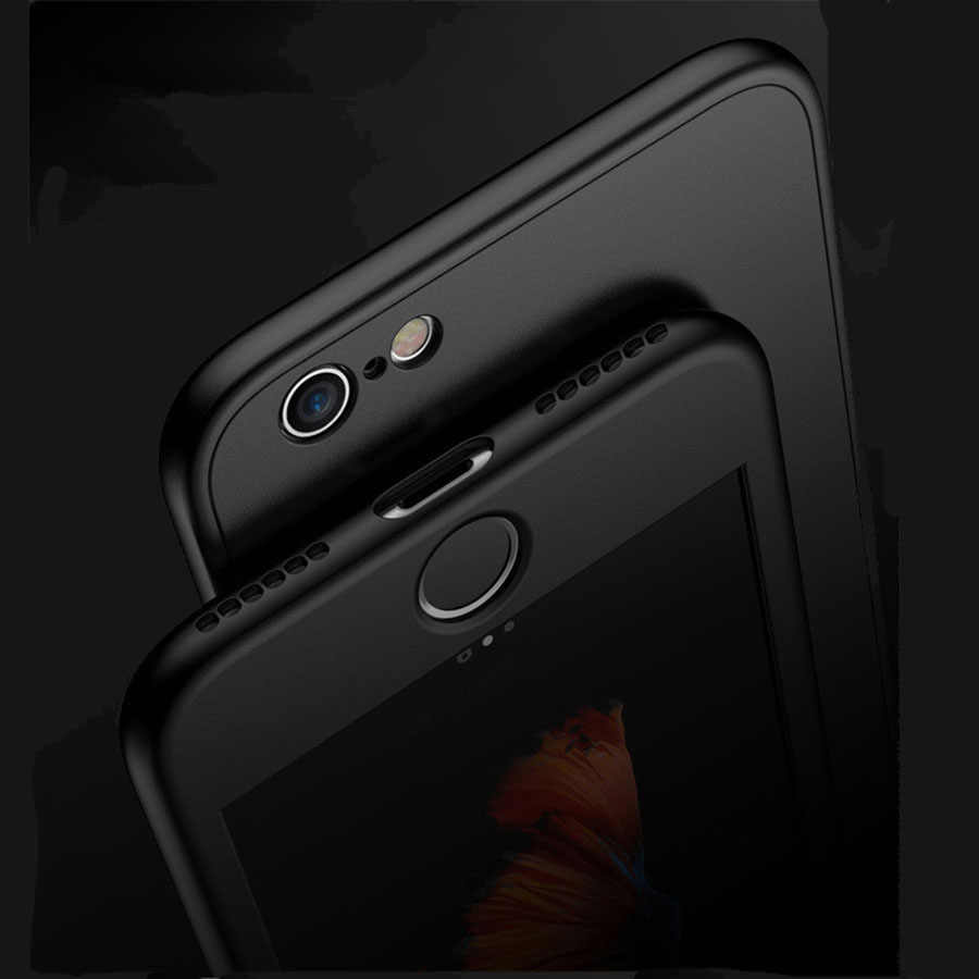 360 mate carcasa completa de silicona funda para Samsung Galaxy J3 J5 J7 Pro 2017 A3 A5 A7 2016 S9 S8 S7 S6 S5 cubierta TPU fundas de teléfono suave