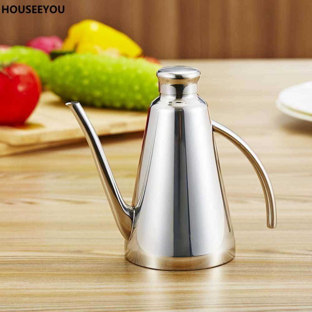 compare prices on oil canister kitchen online shopping buy low 450ml european home kitchen tools olive oil can gravy boat soy sauce vinegar storage canisters dispenser