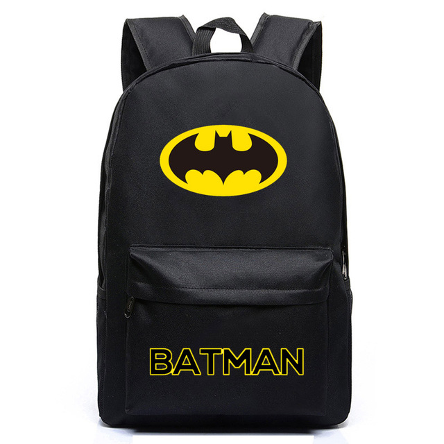 Brand Batman Backpack Super Hero Bags For Boys Girls School Backpacks Kids  Best Gift School Bag Children Backpack 877edbffb224b