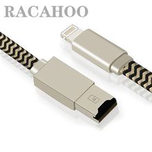 RACAHOO Memory Micro SD TF Card Reader USB cord Data charging Cable for iPhone 5 SE 6 6S 7 plus iPad mini Air Pro 9.7 iPod touch