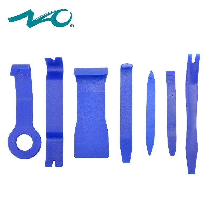 NAO voiture radio outils de voiture led GPS Pry Kit Outils À Main pour auto Audio Tableau de Bord Suppression Ouverture Intérieur signal lumineux 7 pcs Tool Set