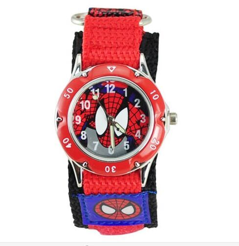 Buy 2016 cartoon spiderman watches fashion children boys kids students spider for Spiderman watches