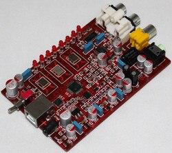 Zmontowane XMOS + PCM5102 + TDA1308 płyta dac YJ wsparcie 384 K USB dekodowania
