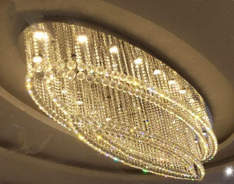 Led Kronleuchter Xiaomi ~ Moderne zeitgenössische ovale form regen tropfen suspension lampe