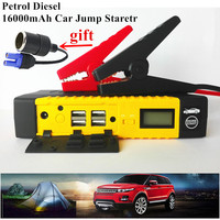 Best Starting Device 12V 600A Pack Portable Car Jump Starter Mobile Car Battery Booster Charger Starting Deisel Petrol Buster