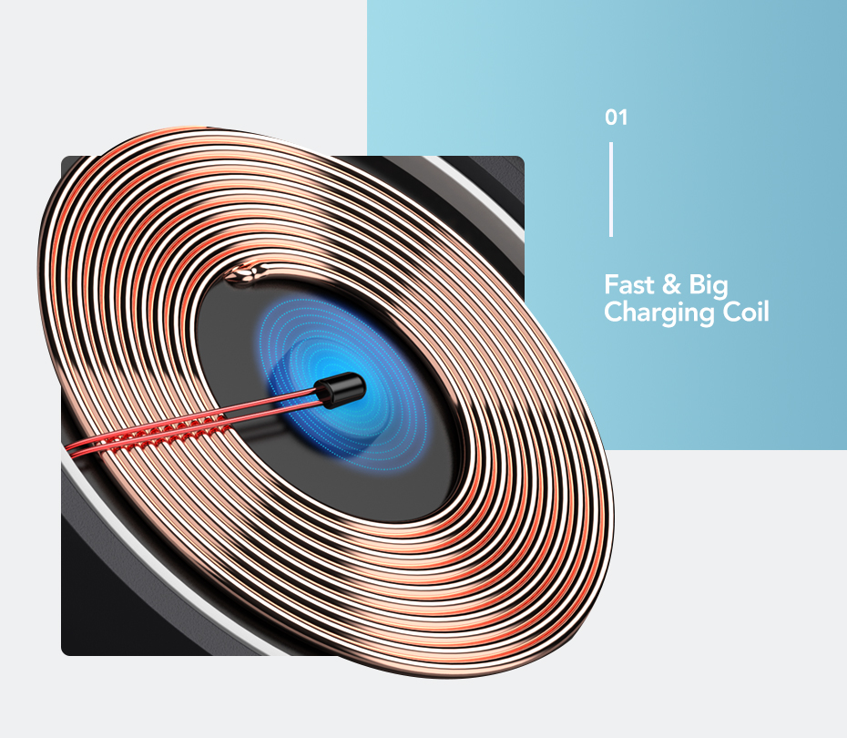 Ugreen Wireless Charger 10W 7.5W Qi Wireless Charging for xiaomi mi 9 iPhone X XS 8 XR Samsung S9 S8 Fast Phone Wireless Charger 9