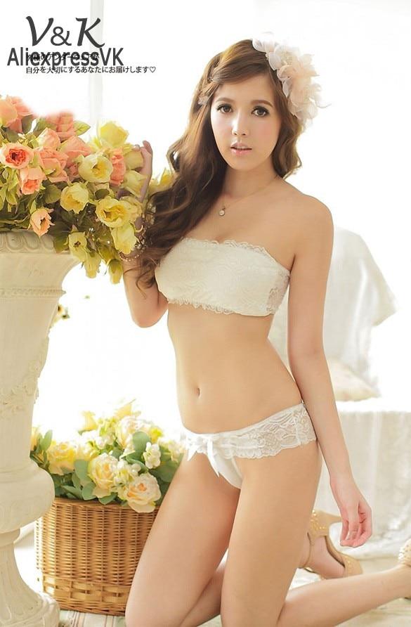 Sweet Lace Bra SetsWomen Underwear Bra + Brief Set Push Up A B BraRomantic  lingerie b05bed422