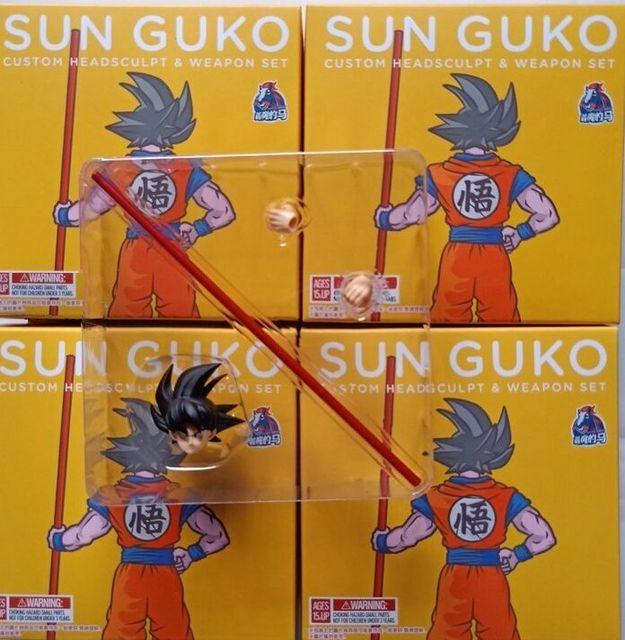 Em estoque Demoníaco fit Terno para brinquedo figura de ação Dragon Ball Z DBZ Goku SSJ UI PODER PÓLO Vara 1/12 acessórios