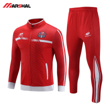 Hot Sales Full deepth Custom tracksuits Uniform Popular design sport football team training for men