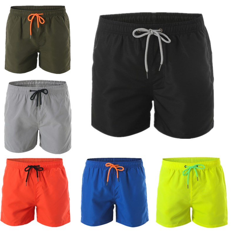 2019 New Clover Printing Quick-drying Beach Shorts Men's Swimwear Men's Swimming Trunks Summer Bathing Beachwear Surfing Shorts