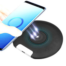 10W Qi Wireless Charger for iPhone X XS XR 8 Plus Fast Wireless Charging Pad for Samsung Note 9 S8 S9 S10 Xiaomi mi 9 Charger все цены