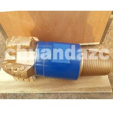 High quality 5 7/8 inch 5 blades steel body PDC bit oil and gas drilling equipment