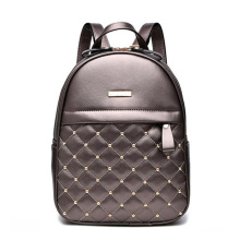 2019 Design PU Women Leather Backpacks School Bag Student Ba