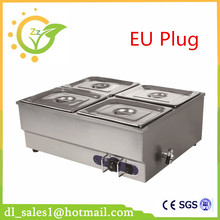 stainless steel Bain Marie table top electric bain marie buffet food warmer electric food warmer container