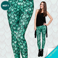 New 3D Printing Dragon Green Winter Women Leggings Causal Soft jeggings Tayt Fitness Legging Sexy Leggins Fashion Legins girls