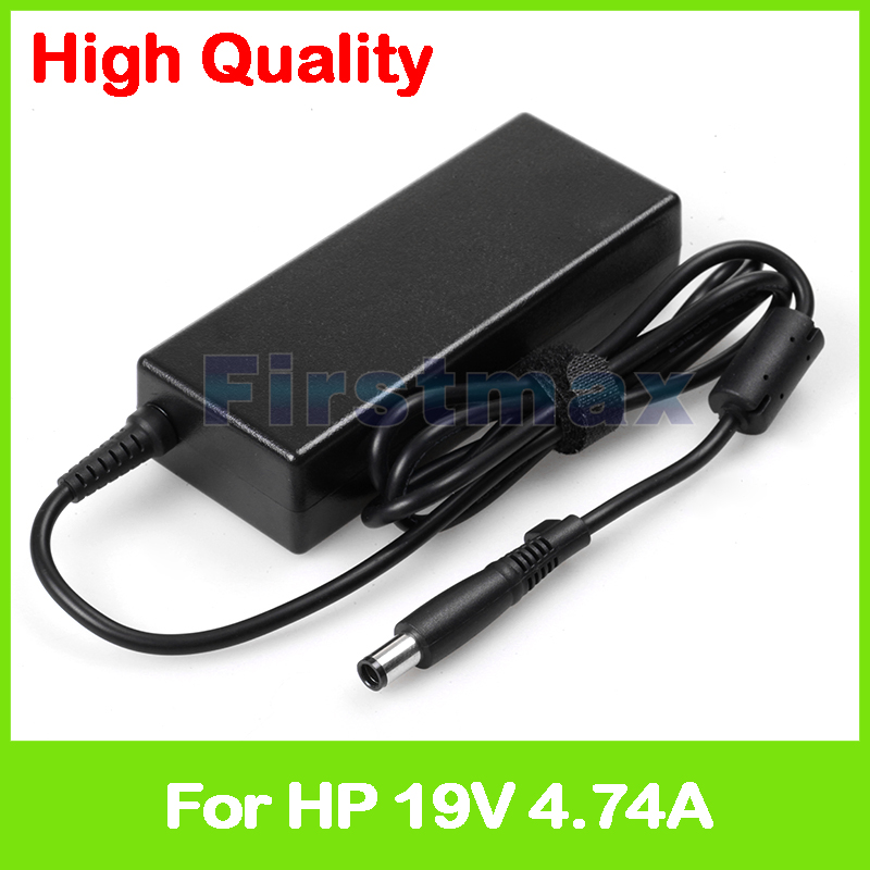 19V 4.74A 90W AC laptop adapter power supply for HP EliteBook 6930p 8440p 8440w 8460P 8470P 8530P 8540p 8560P 8570p charger yunda replacement 90w 4 74a 7 4 x 5 0mm power adapter for hp laptop black ac 100 240v