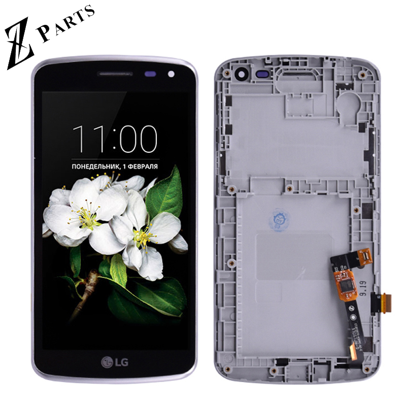 Original For LG K5 X220 <font><b>X220DS</b></font> X220MB LCD Display with Touch Screen Digitizer Assembly with frame free shipping image
