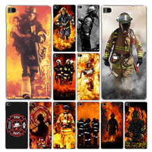Lavaza Firefighter Heroes Fireman Phone Case for Huawei P20 P10 P9 P8 Lite Plus Pro 2017 2016 2015 P Smart 2019(China)