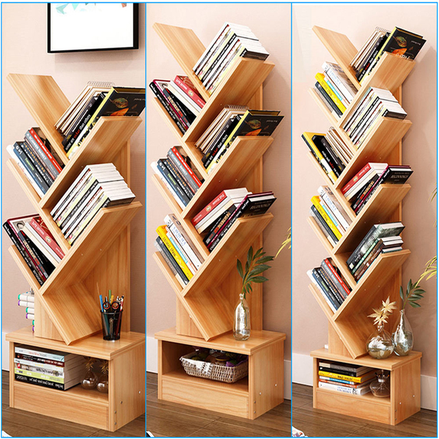 Modern Tree Storage Rack Display Bookshelf Home Decor /Hanger Creative  Furnishing Articles Decoration   7