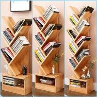 Modern Tree Storage Rack Display Bookshelf Home Decor /Hanger Creative Furnishing Articles Decoration 7 TIER BROWN