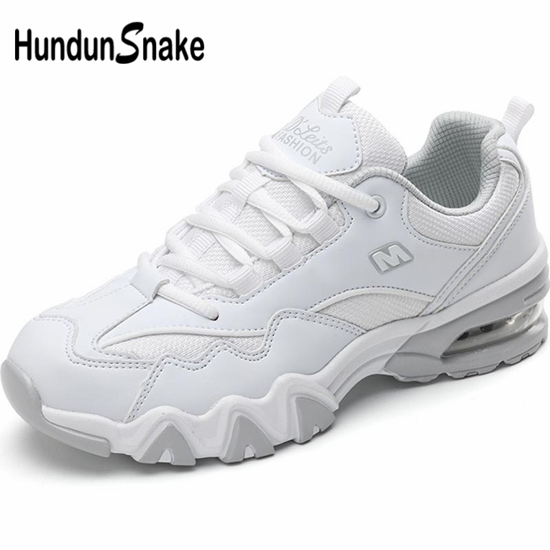Hundunsnake Summer Sneakers Dames Breathable Women's Sports Shoes Sport Women Running Shoes White Scarpe Donna Footwear A-035