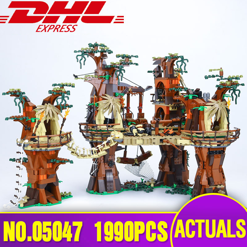 Lepin 05047 Star 1990pcs Wars Village Building Blocks Juguete para Construir Bricks Toys Compatible with 10236 Model Gifts